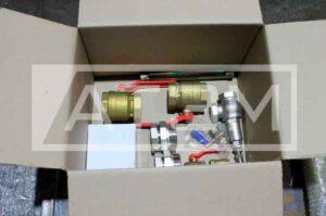 Стандартная комплектация котла на дровах КВр-0,1Д, мощностью 100 кВт