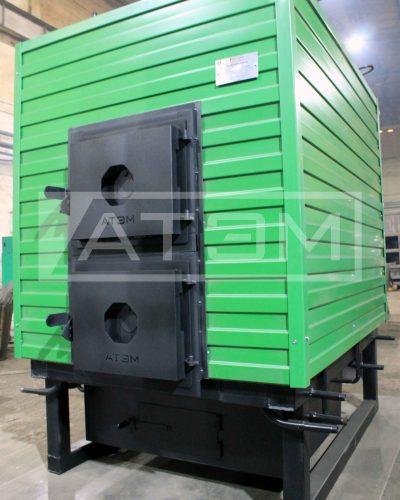 Котел водогрейный на дровах КВр-0,6Д